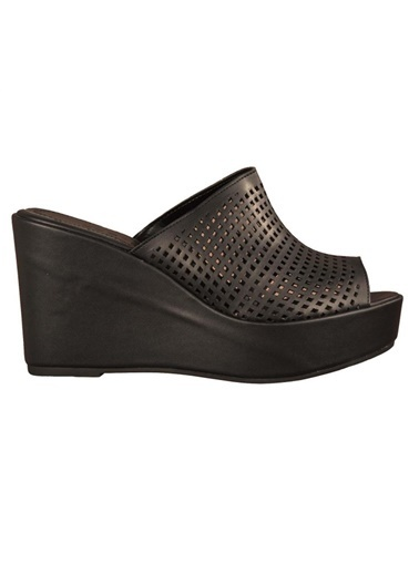 Esstii 424 Siyah Kadın Topuklu Topuklu Ayakkabı Siyah
